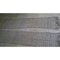Dos Visillos O Stores Antiguedad 100 Años - Hilo/crochet