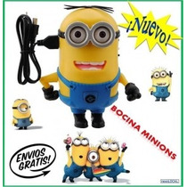 Parlante Portatil Mi Villano Favorito Minions Mp3 Avellaneda
