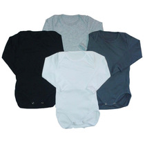 Bodys Manga Larga X Unid. 100% Cotton Pure