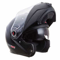 Casco Rebatible Ls2 386 Ride Negro Mate Urquiza Motos