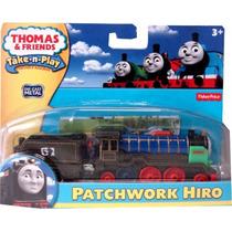 Tren Patchwork Hiro Metalico. Thomas&friends Fisher Price