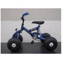 Cuatriciclo Con Suspensión A Pedal Infantil 4x4