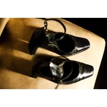Zapatos Elegantes Negros Brillosos Talle 39
