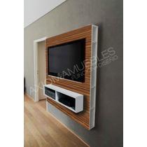 Mueble Panel Respaldo Lcd-led Melamina Color Axiomamuebles