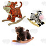 Animales Mecedores Sonido Peluche Importad / Open-toys Avell