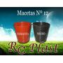 Maceta Soplada P/ Plantines Nº12 Mejor Precio Mejor Calidad!
