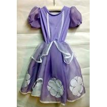Disfraz Princesa Sofia Artesanal T. 3 / 4 Años Jugue Random