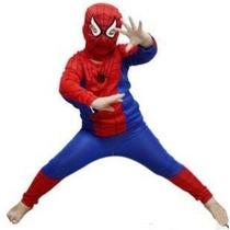 Disfraces Hombre Araña Negro ,rojo ,zorro Nuevos Importados