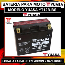 Bateria Yuasa Yt12b-bs Yamaha Fazer Tdm900 Xvs Zx10