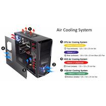 Gabinete Thermaltake V4 Black Edition Gamer Refrig. Liquida