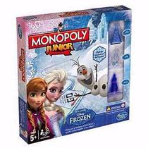 Monopoly Junior Frozen Juego De Mesa Original Hasbro