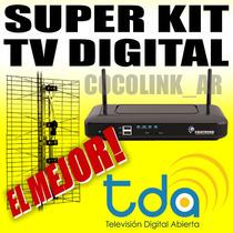Súper Kit Decodificador Digital Tda Larga Distancia C/cable