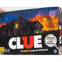 Clue Quién Es El Culpable? Nuevo Juego De Misterio Hasbro
