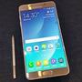 Samsung Galaxy Note 5 Silver Titanium+ Funda+ Cargador+ Gtia