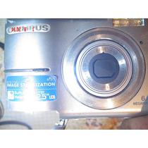 Camara Digital De Fotos Olympus 6 Mp Funciona Ok Tapa Rota