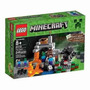 Lego 21113 - Minecraft The Cave + 8 Incl Steve Zombi 249 Pcs