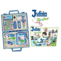 Valija Julian Doctor C/luz Y Sonidos Doctora Juguetes Tv