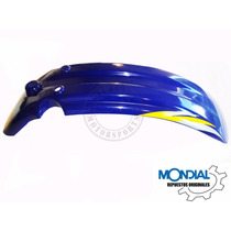 Guardabarros Delantero Mondial Td 200 K (azul)
