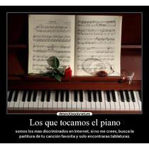 Combo De Partituras Piano Principiantes Fàciles Y Hermosas!!