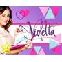 Super Mega Kit Imprimible Violetta (4 En 1) Disney Violeta