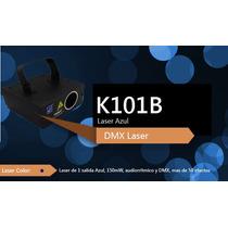 Laser Azul 150mw Audiorritmico Dmx Big Dipper K101b