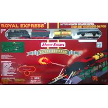 Tren Eléctrico Con Luces Y Sonido Royal Express Cuotas
