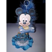 Souvenir Cumpleaños Fibrofacil Mickey Bebe