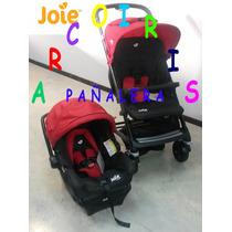 Coche Travel System Kixx Joie Infanti. Huevo/base. Arcoiris