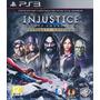 Injustice Gods Among Us Ultimate Edition Ps3 Tarjeta Digital