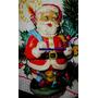 Antiguo Papa Noel Goma-navidad-arbolito-coleccion