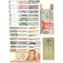Lote 15 Billetes Argentinos Distintos Sin Circular ¡oferta!