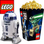 Kit Imprimible Lego Star Wars Candy Bar Cotillon Cumple 2x1