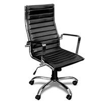Sillon Ejecutivo Gerencial Medio Aluminium Oficina Eames Vip
