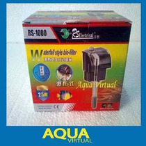 Filtro Cascada Mochila 600 L/h Rs1000 Para Acuarios