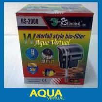 Filtro Cascada Mochila 800 L/h - Rs2000 Para Acuarios