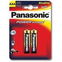 Pilas Aaa Panasonic Alcalina . Distribuidor Oficial