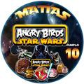 Kit Imprimible Starwars Angry Birds Cumpleaños Único!