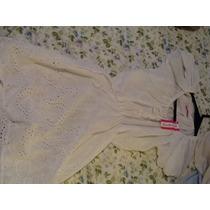 Blusa De Broderi Para Usar Con Calzas O Vestido Playero