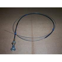 Cable Acelerador De Mano Motor Diesel O Maquina Vial
