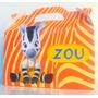 Bolsita Valijita Zou Cebrita Souvenir Infantiles Pack X40