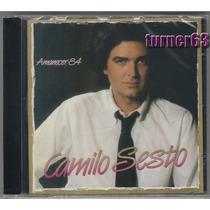 Cd *** Camilo Sesto *** Amanecer 84 *** Original Imp Nuevo