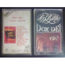 Cassettes Vox Dei - Cuero Caliente + La Biblia - Oportunidad