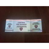 Entrada De Pre Ingreso San Lorenzo Copa Libertadores