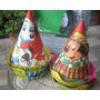 Antiguos Bonetes Cumpleaños Año 65/70´ X 5 Disney (6341)