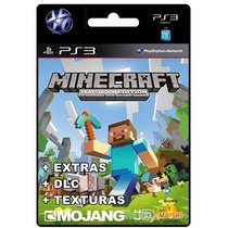 Minecraft Ps3 Full Dlc Extras + Texturas Store Microcentro