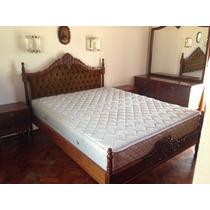 Juego De Dormitorio Luis Xv Usado. Excelente Estado.