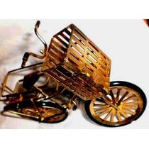 Antigua Bicicleta Fosforera-porta Palillos-coleccion Vitrina
