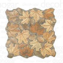 Revestimiento Simil Piedra Porcelanato Hojas Por Pieza