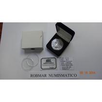 Robmar-u.s.a.-1 Onza De Plata-1 U$s-con Estuche-certificada