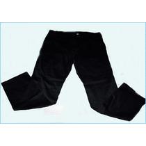 Pantalon Gabardina Elastizado Tiro Medio H/talle 62